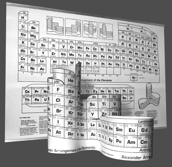 Alexander Arrangement of Elements Classic 3D model Display version