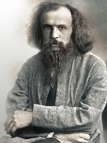 The history of the periodic table mendeleev dmitri mendeleev mendeleevs original periodic table urtaz Image collections
